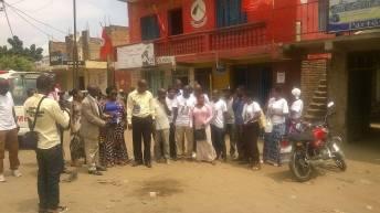 Uvira-RDC: AFDC vient de recevoir  une moto ce jeudi avant midi