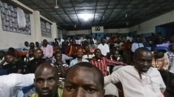 Face à face Evêque d'Uvira- communauté savante du coin sur la politique actuelle en RDC