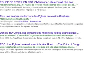 Uvira-RDC: l'évêque de l'église de réveil du Congo ERC appel aux uvirois de vivre en paix