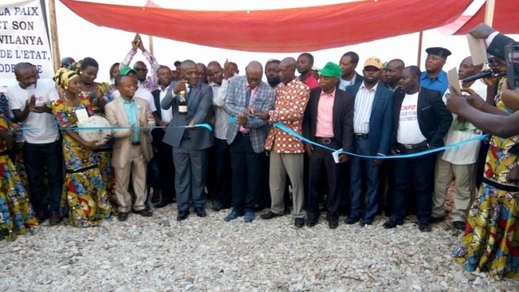 Inauguration de la Station Numérique de la Radio – Télévision Inauguration de la Station Numérique de la Radio – Télévision à Baraka/Fizi.