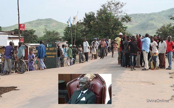 Sange-RDC: Coups de feu et débandade après que le Ministre Bitakwira ait été reproché par la population en colère
