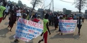 Uvira-RDC: Manifestation des opérateurs économiques dispersée ce jeudi par la police