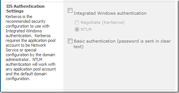 Turn off all authentication for a SharePoint site