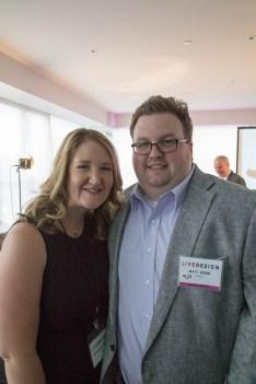 Rosemary and Matt Webb