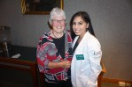Professor Emeritus of Medicine Mimi Reardon, M.D.'67 and Soraiya Thura '18
