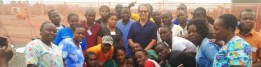 Majid Sadigh, MD, in Liberia