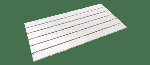 Evolar omkasting onderzijde hout wit Uw Airco