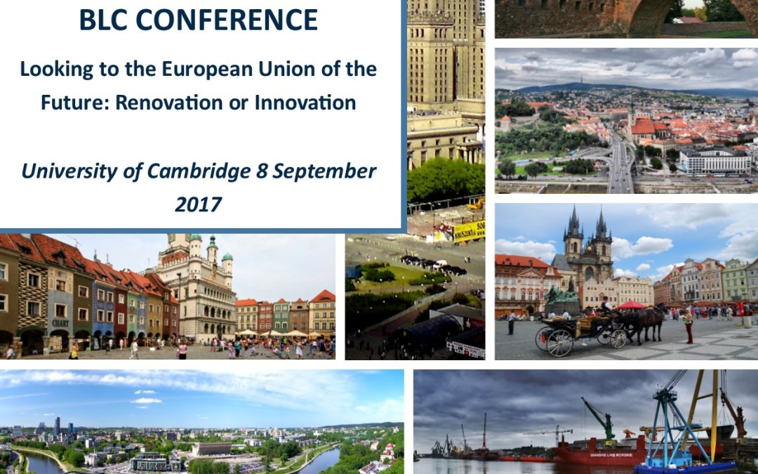 Conference: The EU of the Future: Renovation or Innovation