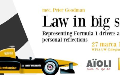 Guest Lecture: Formula 1 Lawyer Peter Goodman