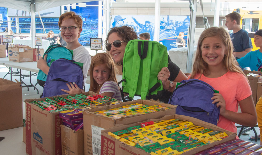 Stuff the Bus Event Day