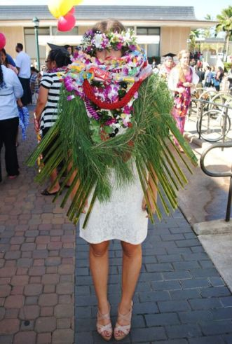 Here is a fun photo of me from my college graduation!