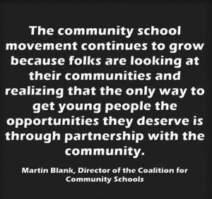 Community Schools Quote