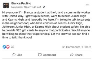 Student Safety Outreach post