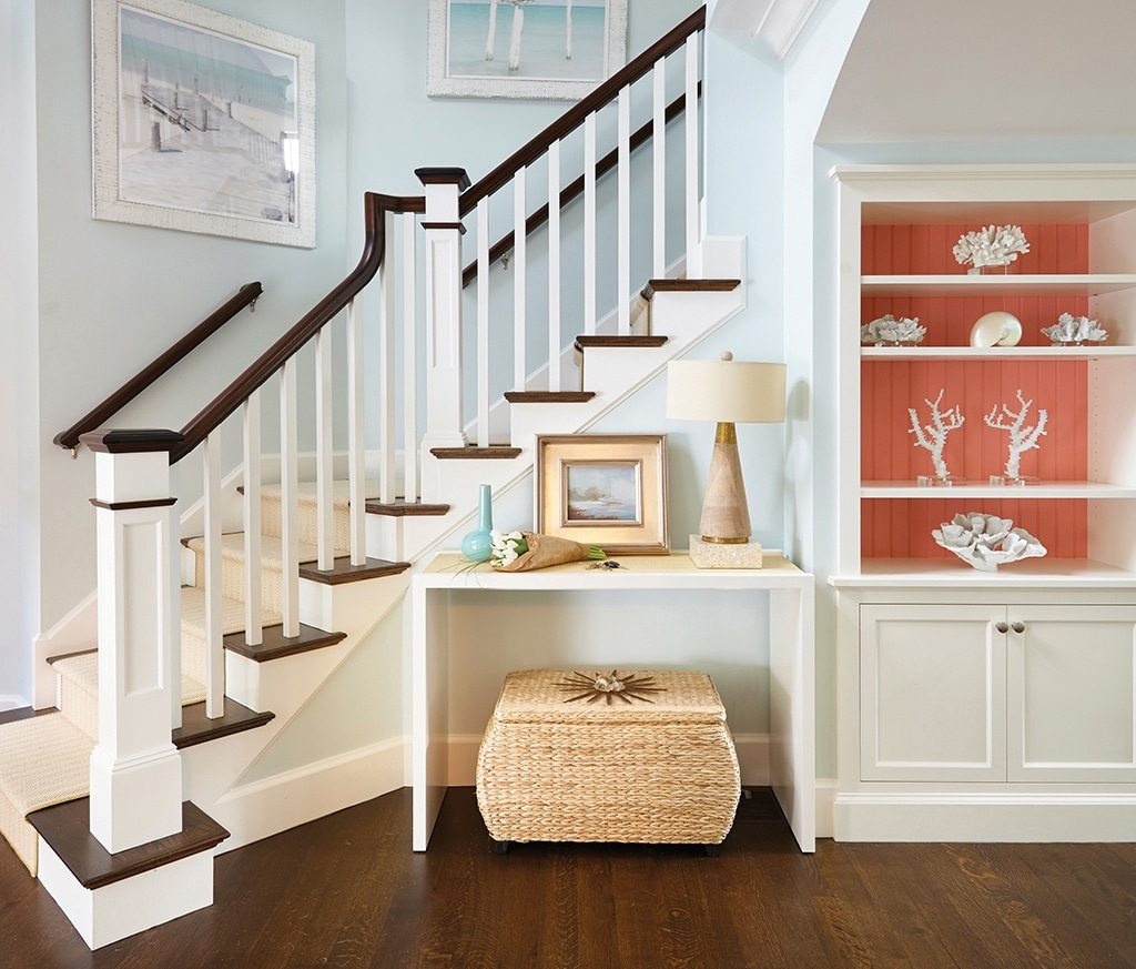 Every Last Detail Cape Cod Life   Cape Cod Staircase Designs   Raised Bungalow Deck   Layered   Interior   Veranda Step   Stair