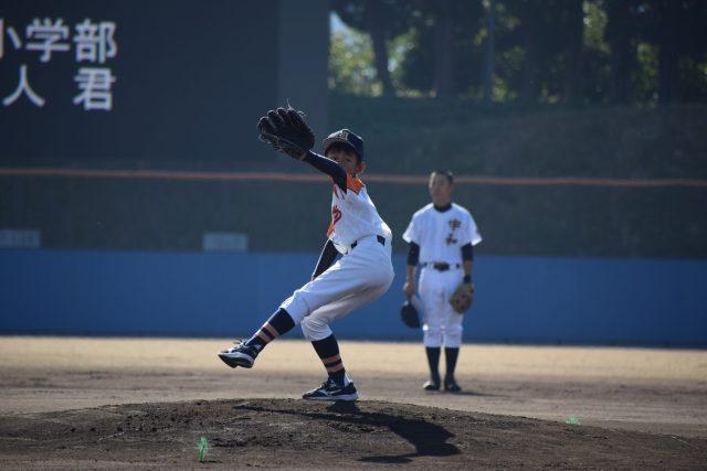 愛媛県立宇和高校創立110周年記念・野球部招待試合(始球式)