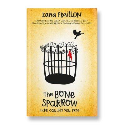 The Bone Sparrow by Zara Fallion book cover