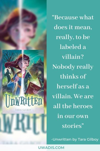 Quote from Unwritten by Tara Gilboy
