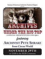 SAA-SC Special Event featuring Archivist Pete Shrake from Circus World