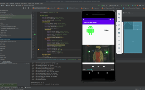 Tocar áudio e vídeo no android com Java