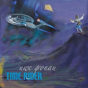 "CD-Cover ""Time Rider"" von Uwe Gronau, 2011"