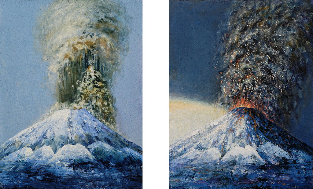 Twins: the volcanos