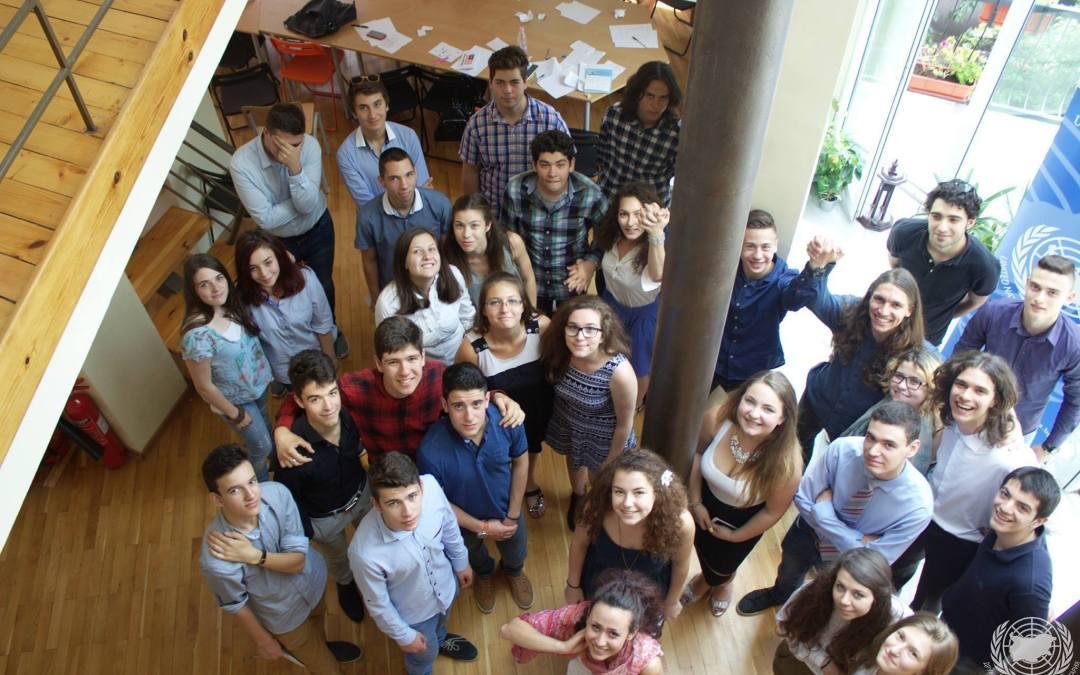 Клубът за ООН в Увекинд домакин на ученическия модел на София
