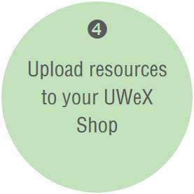 Upload UWeX Shop