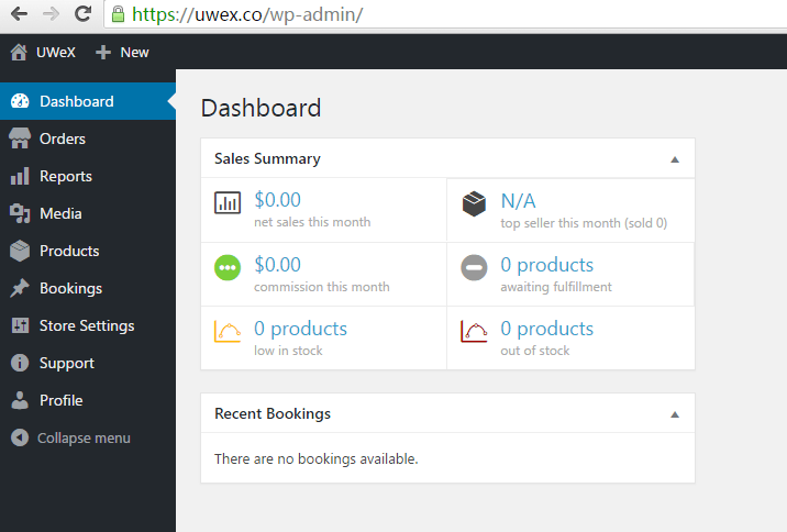 vendor-dashboard