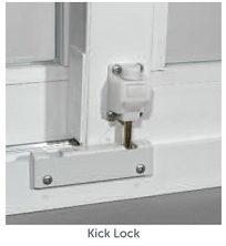 Patio Door Kick Lock