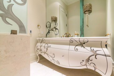 Main Floor Powder Room by Ambience