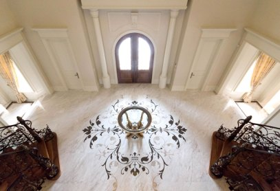 Main Foyer Medallion by Ambience