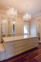 Master Bedroom Walk-in Closet by Ambience