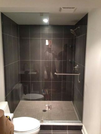 In-line Glass Shower Doors