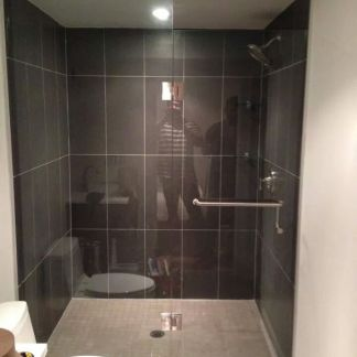 In-line Glass Shower Doors