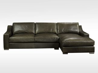 Jupiter leather sofa - Capetown Wolf
