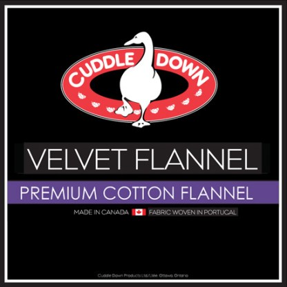 Velvet Flannel by Cuddle Down Products