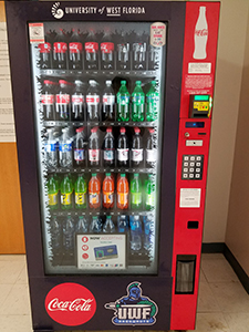 Vending Locations Amp Pricing University Of West Florida