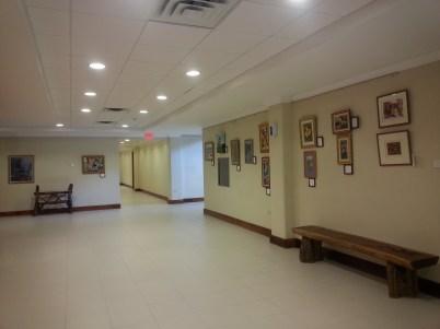 Changing display in UWI RHQ Elevator Lobby