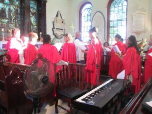 Festival of Nine Lessons & Carols at St James Parish Church, Montego Bay (Photo courtesy UWI Archives)