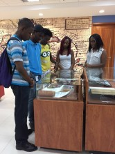 Checking out artifacts related to Prof Rex Nettleford
