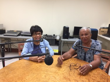 First cousins Marjorie (UWI) and Shirley (UCWI) Whylie were great interviewees