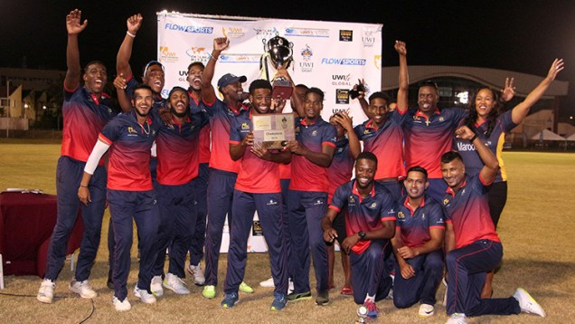 CCC takes winner's trophy at first ever UWI World Universities T20 Tourn…