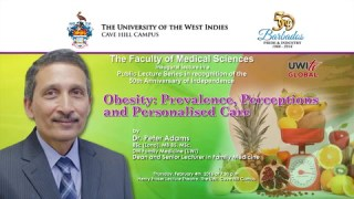 Research Room: Obesity – Prevalence, Perceptions and Personal Care Lecture with Dr. Peter Adams