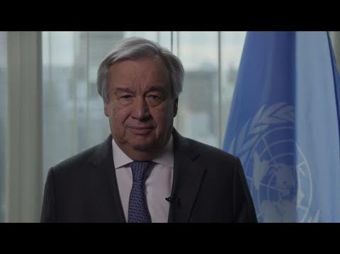 UN Chief on Coronavirus