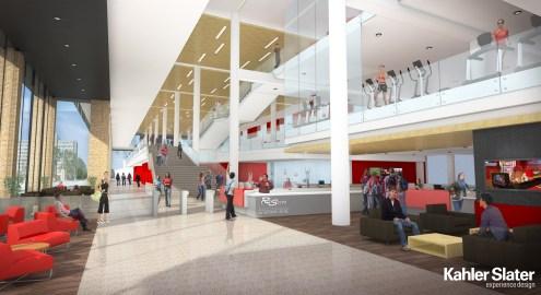 SERF entrance/lobby concept