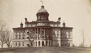 Bascom Hall, c. 1870