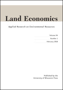 Land Economics cover image