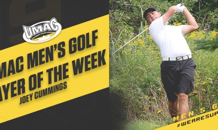 Cummings named UMAC Men's Golf Player of the Week