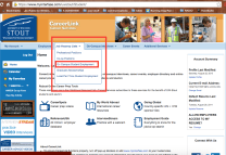 "In the navigational bar, hover over ""Job Vacancy Lists."" Click ""On Campus Student Employment."""
