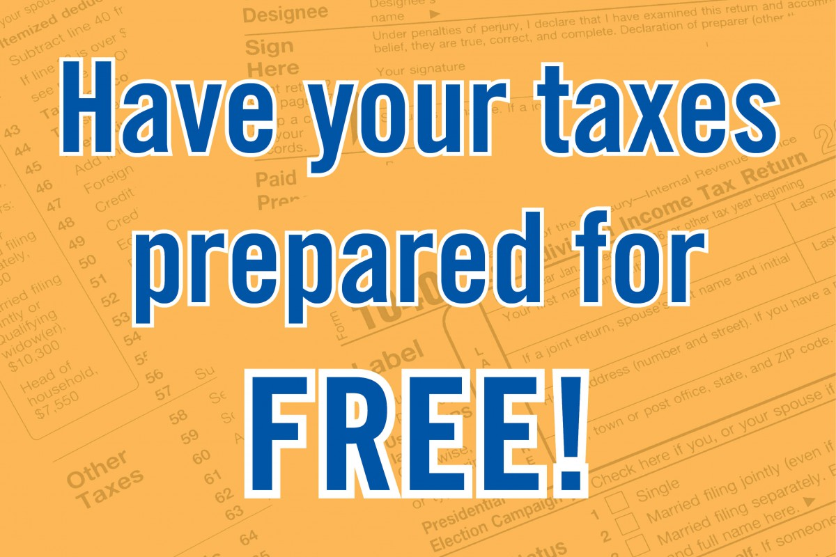 Free Tax Preparation Now Available United Way Of
